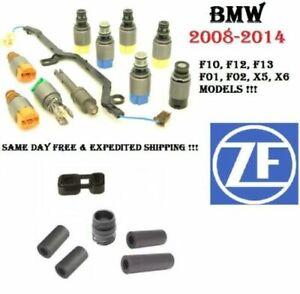 Transmission Valve Body Solenoid Kit+Adapters+Sleve+Plug For BMW Jaguar Vehicles