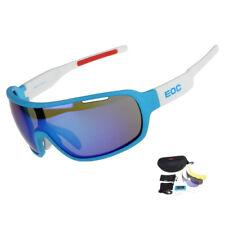 EOC Polarized Cycling Glasses Bike Goggles Fishing Sunglasses UV400 3 Lens 810DW