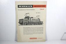 Märklin Neuheitenblatt 1964, mit Zubehörteil, Schön!