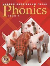 MODERN CURRICULUM PRESS PHONICS: RED BOOK -  LEVEL A  ~~~BRAND NEW~~~
