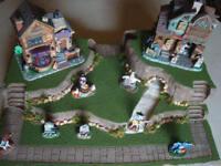 Halloween Village Display Platform Base HW29 For Lemax Dept56 Dickens + More