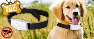 2 Ultrasonic Anti-Flea Dog Collar / Repeller