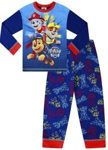 Boys Paw Patrol Gifts Kids Birthday Gift Idea School Boys PJs Childrens Clothes Paw Patrol One Team Boys Long Pyjamas Set Official Merchandise