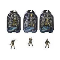 "SET of Temple Guard Predator 7"" Scale Action Figure - NECA Series 15"