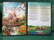 Tarzan King of The Jungle 12 movies (DVD)