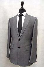 Men's Duchamp Grey Wool and Silk Sport Jacket Blazer 36R SK1785