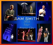 SAM SMITH 2018 TOUR CONCERT LIVE PHOTO CD 1500 NOT SIGNED THRILL OF IT ALL