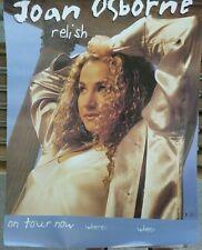 Rare Joan Osborne Relish 1995 Vintage Original Music Store Tour Promo Poster