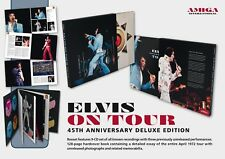 AMIGA INTERNATIONAL 2017 ELVIS ON TOUR DELUXE 9 CD/128 PAGE SLIPCASED BOOK MINT!