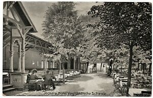 Jocketa Hotel Vogtlandische Schweiz Vintage Postcard No.1409 Pohl Germany
