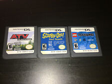 Scooby Doo First Frights, Atv Quad Kings And Rockband For Nintendo Ds
