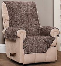 Innovative Textile Solutions Shaggy Plush Loveseat Furniture Protector Chocolate