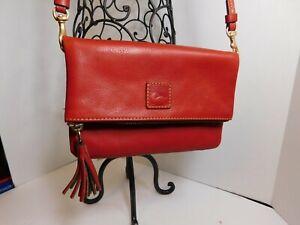 DOONEY & BOURKE - Red leather crossbody bag or organizer