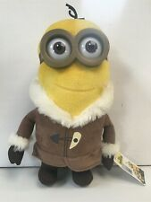 Official DreamWorks Minion Plush Toy with Tags 13 inches Snow Coat