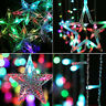 2.5m RGB LED Lichterkette Außenbereich Innenbereich Weihnachtsdeko Licht FL