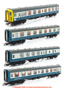 32-642Z, 00 Gauge, Bachmann Class 438 4-TC Unit number 8022 BR Blue + Grey *NEW*