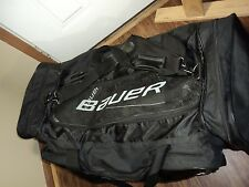 Bauer Black Hockey Equipment Bag, XXL,  GREAT CONDITION, VERY ROOMY