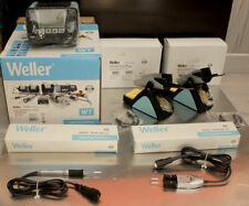 Weller WT2020 CMS station 150W, WT2, WMRP set, Tweezer WMRT newer