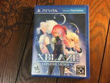 XBlaze: Lost Memories (PS Vita Game) - New and Sealed