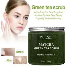Matcha Green Tea Body Scrub Exfoliating Deep Cleansing Brightening Moisturizing