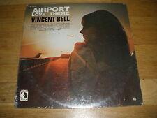 VINCNET BELL airport love theme LP Record - sealed