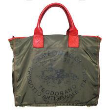 CAMPOMAGGI Shopper Nylon, Militare, Cotto
