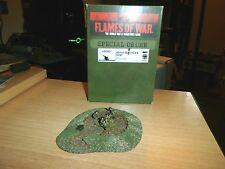 Flames of War - GERMAN 40mm Bofors AA Nest   HSO601 NICELY PAINTED & BASED