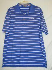 Peter Millar Summer Comfort Golf Shirt Firestone Country Club Large Akron OH EUC