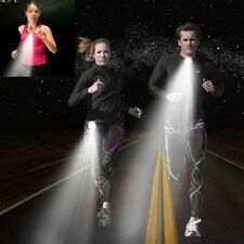 Running/jogging lights white/red,rechargeable battery,2 working days delivery.