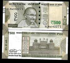 "Rs.500/- Urjit Patel  Star Note ""E"" Inset  Prefix 8LM  2017 - UNC  LATEST"