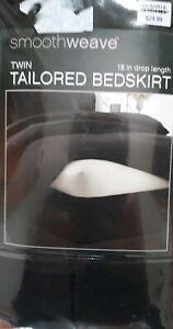 Smoothweave Tailored Twin Bedskirt