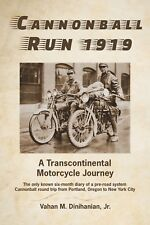 Motorcycle book   Cannonball Run 1919
