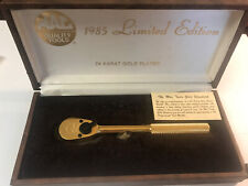 MAC TOOLS 1985 Limited Edition 24k Gold Plated- 3/8 Ratchet