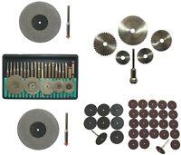 69 Zubehör-Teile für Dremel und andere Multifunktionswerkzeuge Trennscheiben ++