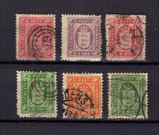 DENMARK, Some Official Stamps, cv$ 83.10