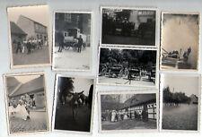 17x Foto Storkow (Mark) Brandenburg 1935-1939 Erntedank Kinderfest Jugendburg
