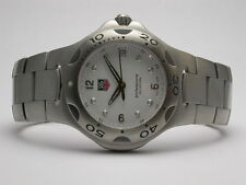 TAG HEUER KIRIUM PROFESSIONAL MODEL #WL1110.BA0700 WHITE DIAL MENS WATCH