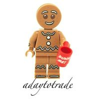 LEGO Collectable Mini Figure Series 11 Gingerbread Man - 71002-6 COL168 R377