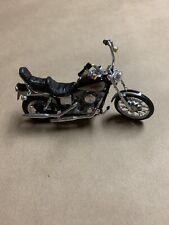 Maisto Black Harley Davidson Classic Motorcycle 1:24 Scale