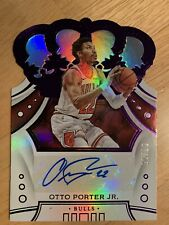 19-20 Crown Royale Otto Porter Jr 7 /15 Auto Signature Nba Chicago Bulls