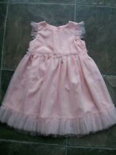 BNWNT Girl's Pink Tulle Sleeveless Party Dress Size 1