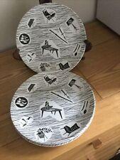 VINTAGE RIDGWAY HOMEMAKER 9 INCH/23cm PLATES. £9.99 Per ONE Plate