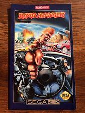 Road Avenger Sega CD Genesis Game Instruction Manual Only