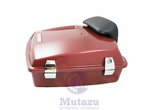 Mutazu Fire Red Razor Tour Pak Harley Davidson Touring w/ Premium latches hinges