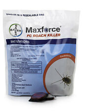4 Bags Maxforce FC German Roach Cockroach Control Bait Station ~ 288 stations