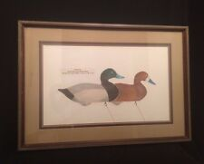 FOLK ART Print Arthur Nevin Duck Broad Bill Decoys Chesapeake Bay 148/250