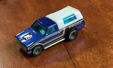Hot Wheels Blue D50 Dodge Truck Real Rider Unused