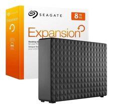 """Seagate Expansion 8 TB USB3.0 3.5"""" Desktop External Hard Drive STEB8000100"""
