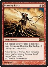 Tierra Ardiente - Burning Earth MTG MAGIC 2014 M14 Asia Coreano