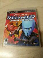 DreamWorks Megamind Ultimate Showdown PlayStation 3 PS3